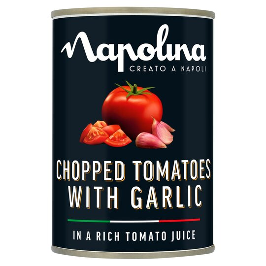 Napolina Chopped Tomatoes & Garlic 400G