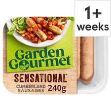 image 1 of Garden Gourmet Plant-Based Cumberland Vegan Sausages 200G