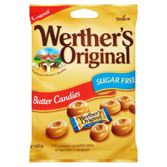 Werther's Original Sugar Free Butter Candy 80G
