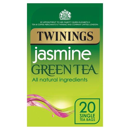Twinings Jasmine Green Teabags 20'S 50G
