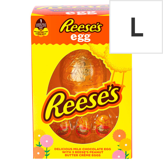 Reese's Mlk Choc Egg With 3 P/But Creme Eggs 232g