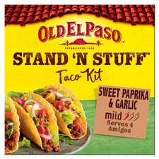image 1 of Old El Paso Taco Stand 'N' Stuff Paprika & Garlic Kit 312G