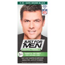 image 1 of Just For Men Hair Colourant Dark Brown/Black