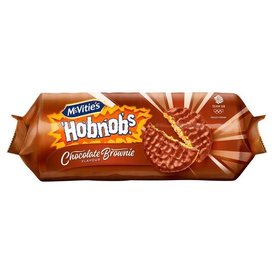 Mcvities Hobnobs Chocolate Brownie Flavoured Biscuits 262G
