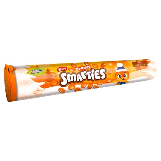 Smarties Giant Tube Orange 130G