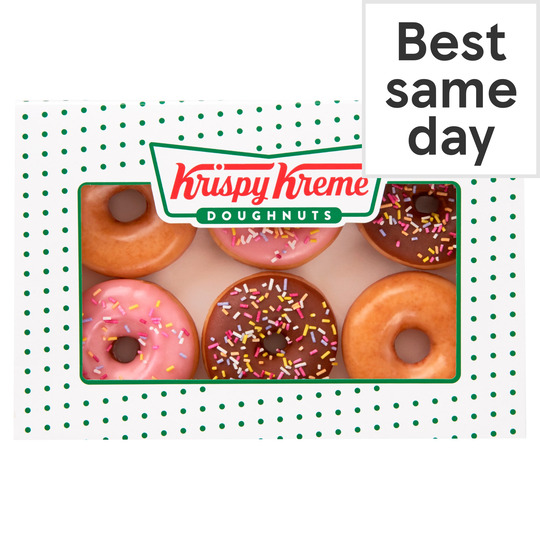 image 1 of Krispy Kreme 6 Mini Doughnuts