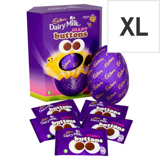 Cadbury Buttons Chocolate Egg 495G