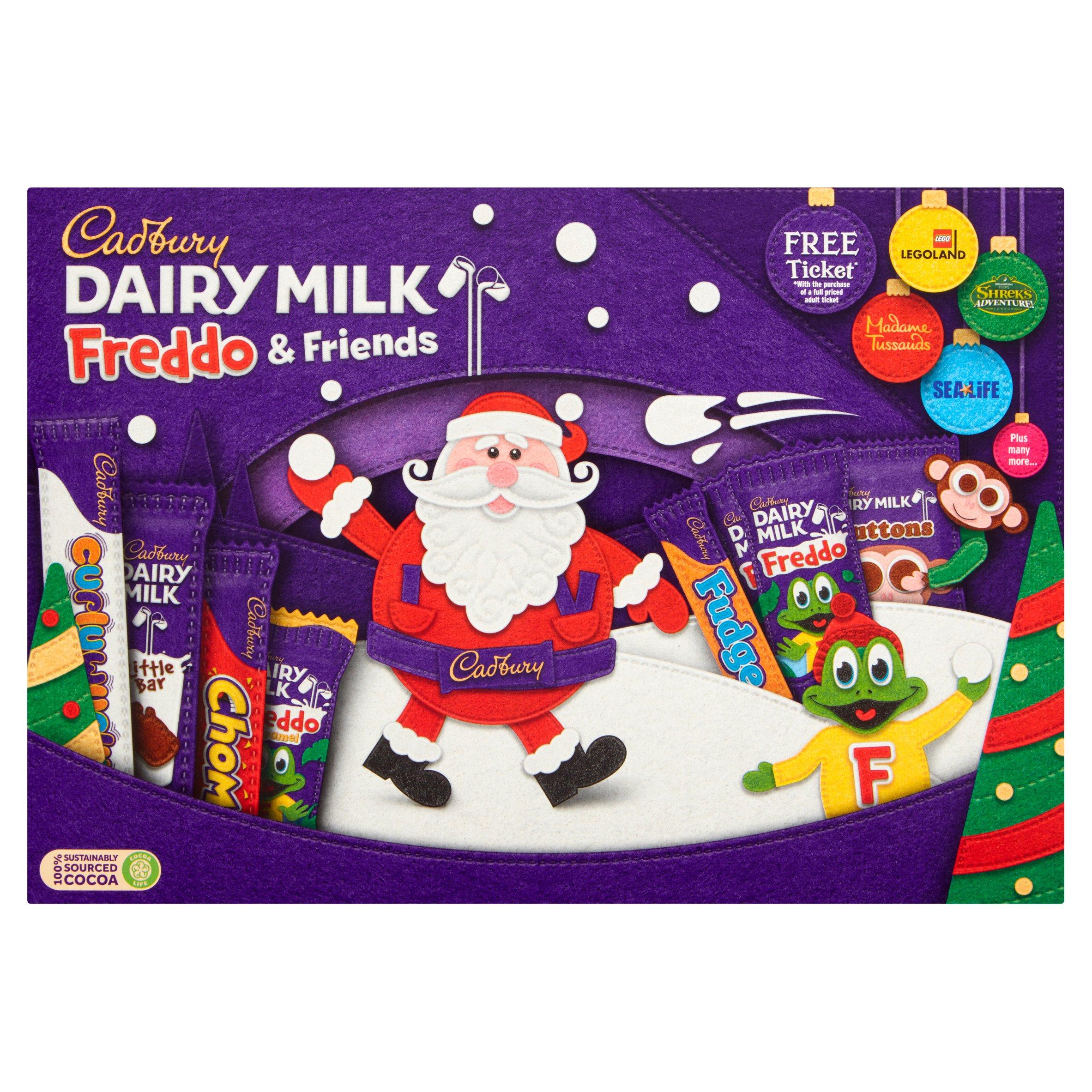 Cadbury Freddo Selection Box 135G