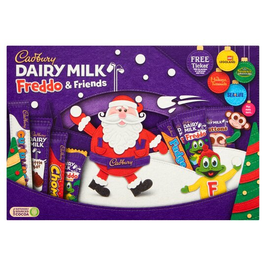 image 1 of Cadbury Freddo Selection Box 135G