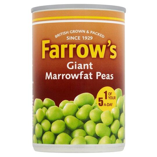 Farrow's Giant Marrow Fat Peas 300G