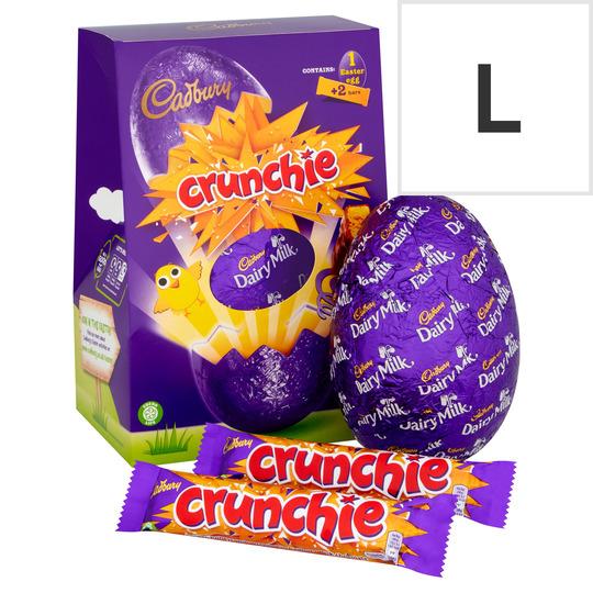 Cadbury Crunchie Chocolate Egg 258G
