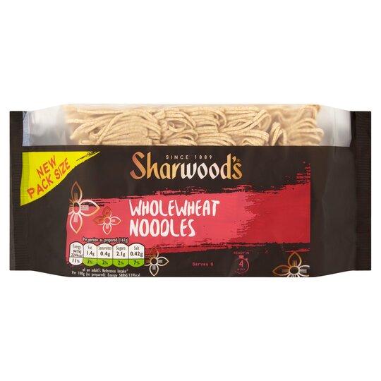 Sharwoods Whole Wheat Noodles 375G