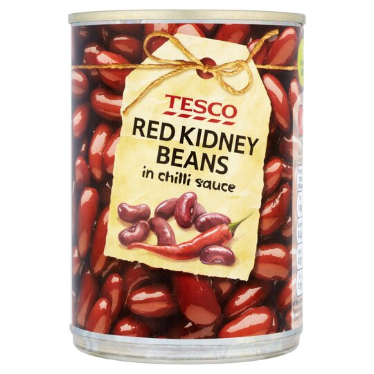 Tesco Red Kidney Beans Chilly Sauce 395g Tesco Groceries