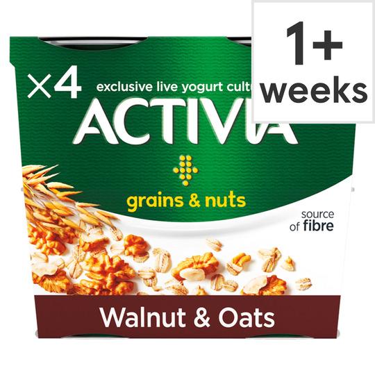 Activia Grains & Nuts Walnuts & Oats