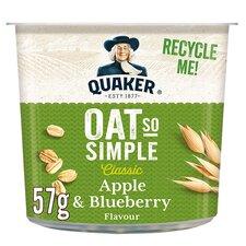 image 1 of Quaker Oat So Simple Apple & Blueberry Porridge 57G