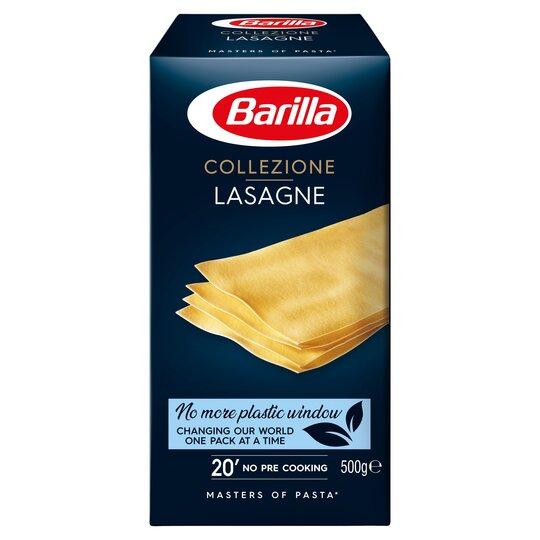 Barilla Lasagne 500g Tesco Groceries