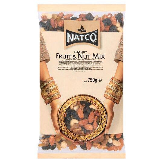 Natco Luxury Fruit & Nut Mix 750G