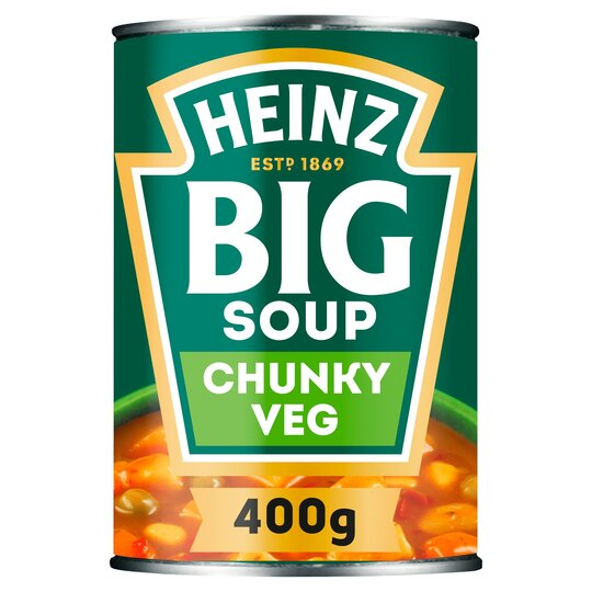 image 1 of Heinz Big Soup Chunky Vegetable 400G
