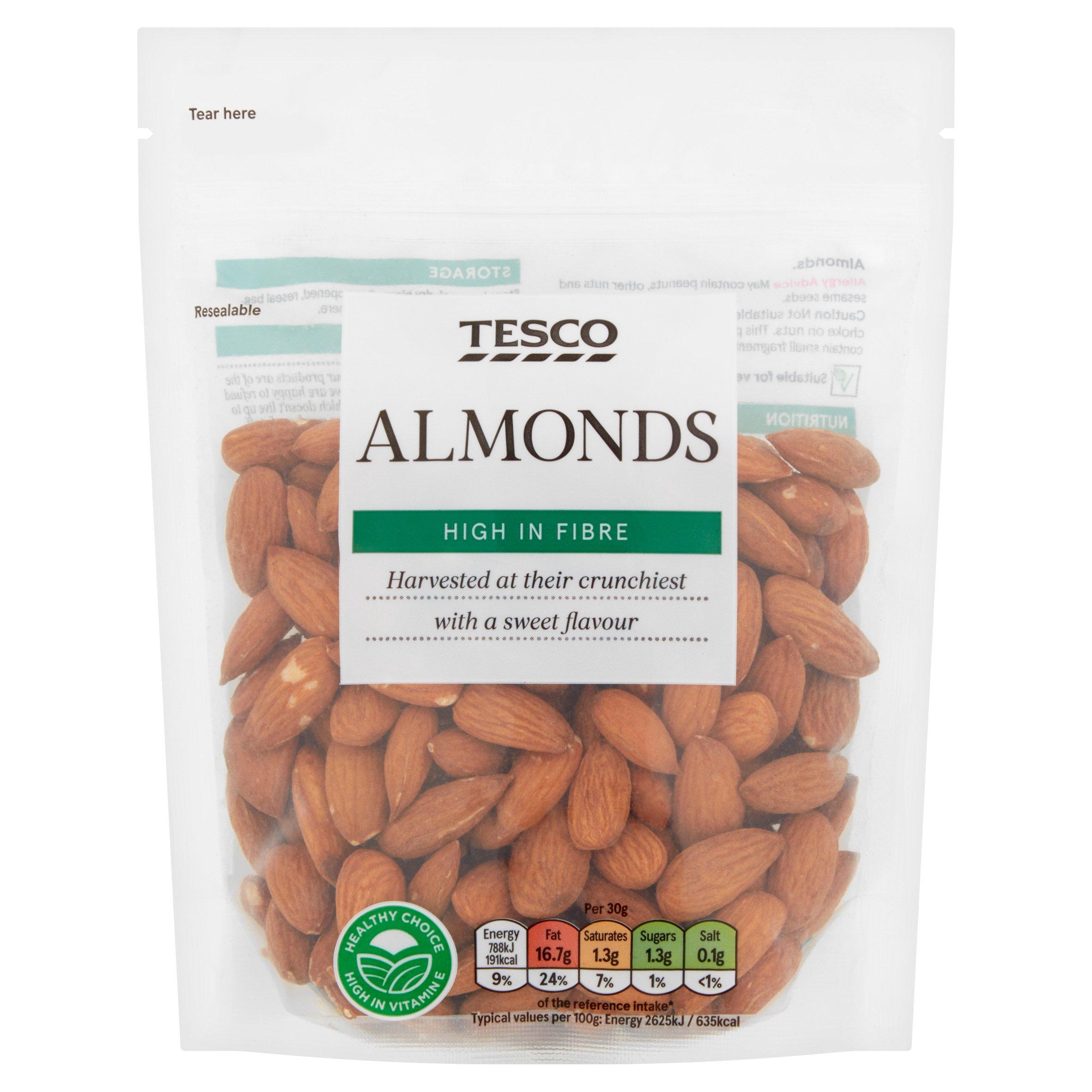 Tesco Almonds 200G