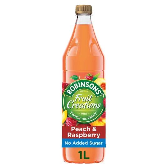 Robinsons Creations Peach & Raspberry 1L