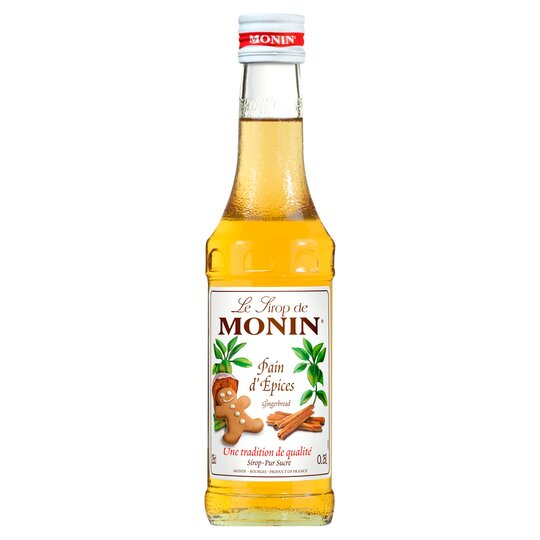 Monin Gingerbread Syrup 250ml Tesco Groceries