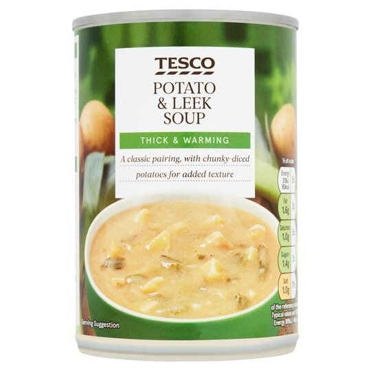 Tesco Potato Leek Soup 400g