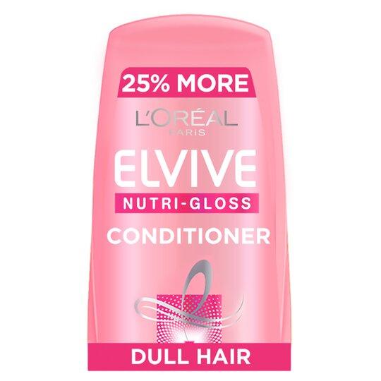 L'oreal Elvive Nutri-Gloss Shine Hair Conditioner 500Ml