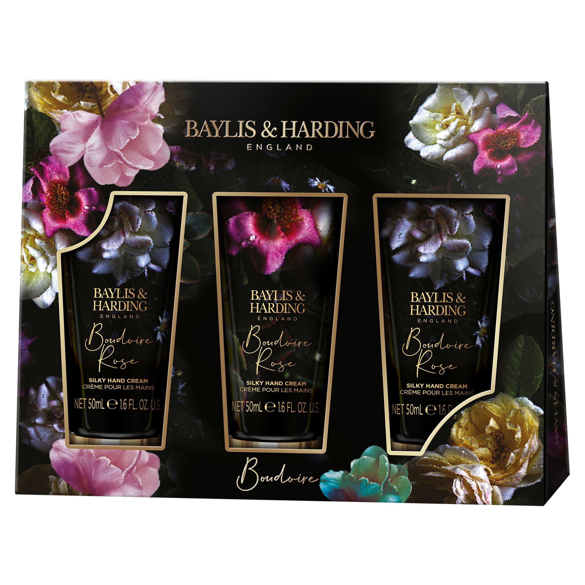 Baylis & Harding 3 Boudoire Rose Hand Cream 3X50ml