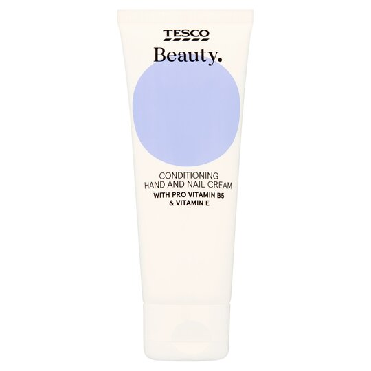 Tesco Beauty Hand And Nail Cream 75Ml