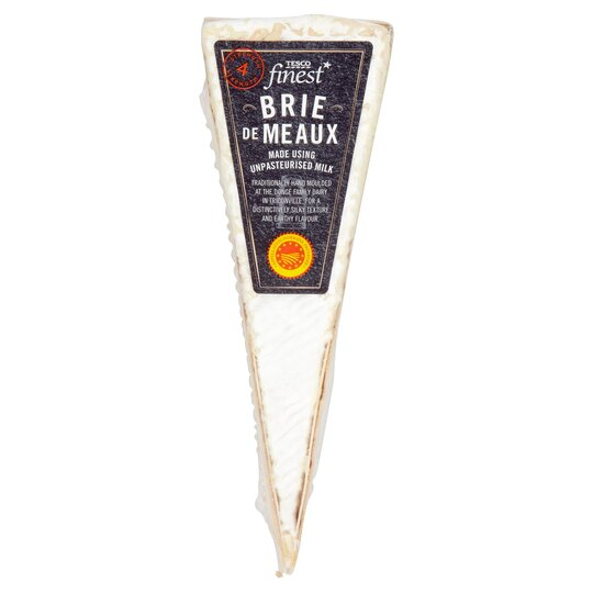 Tesco Finest Brie De Meaux Aop Portion 170G