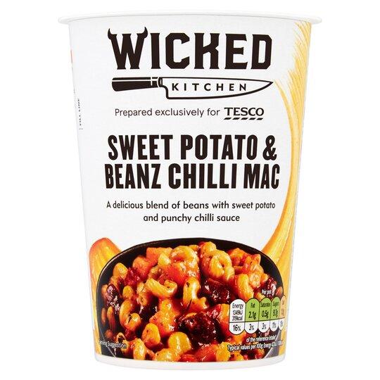 Wicked Kitchen Sweet Potato Chilli Mac 80g