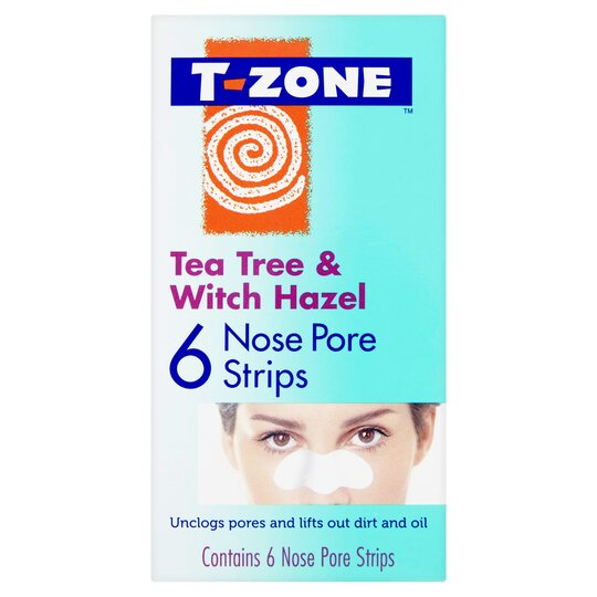 T-Zone Instant Fix Nose Pore Strips 6'S