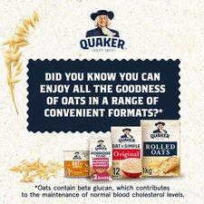 image 3 of Quaker Oat So Simple Apple & Blueberry Porridge 57G