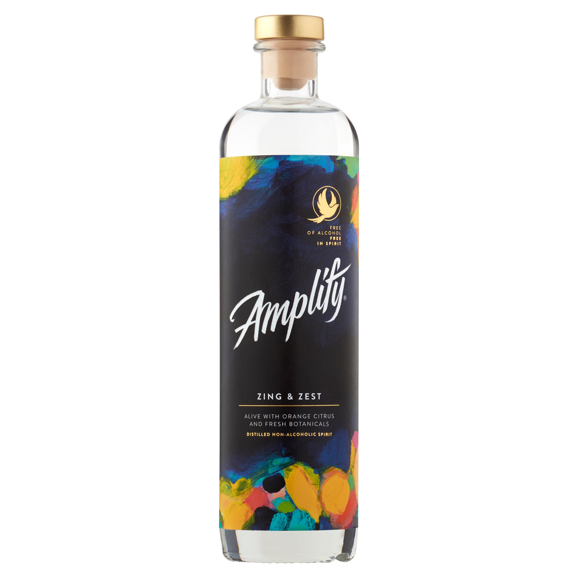 Amplify Zing & Zest Non Alcoholic Spirit 500Ml