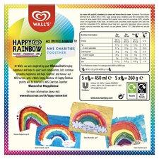 image 3 of Happy Rainbow Yogurt Strawberry & Lime 5X90ml