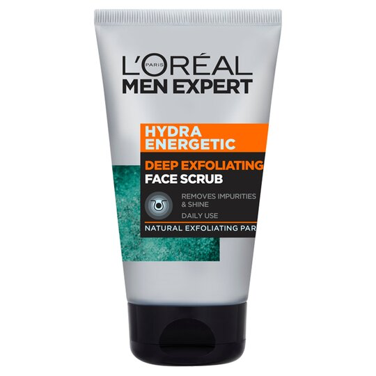 image 1 of L'Oreal Men Expert Hydrating Energetic Face Scrub 100Ml