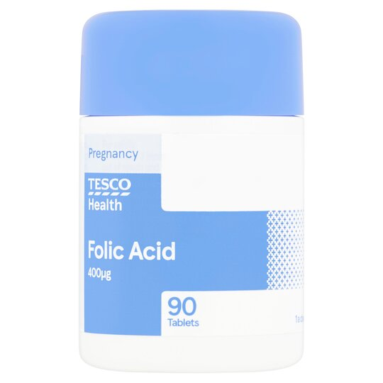 Tesco Folic Acid X 90