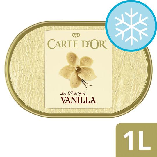image 1 of Carte D'or Vanilla Ice Cream Dessert 1L