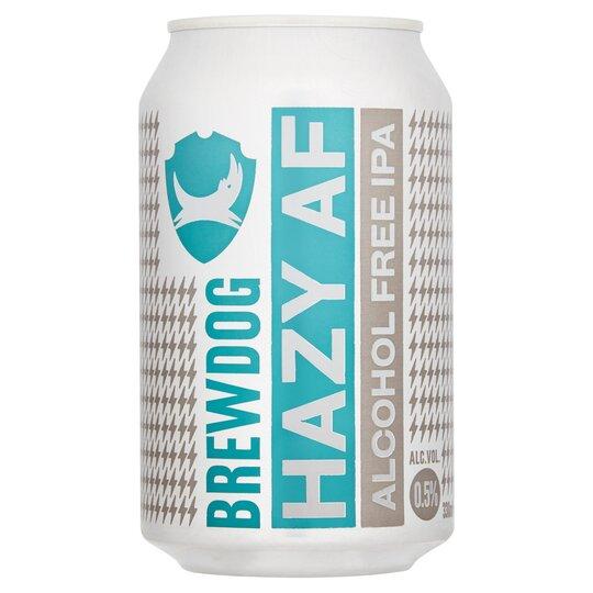 Brewdog Hazy Af Alcohol Free Ipa 330Ml - Tesco Groceries