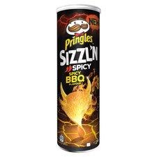 image 1 of Pringles Sizzl'n Spicy Bbq Crisps 180G
