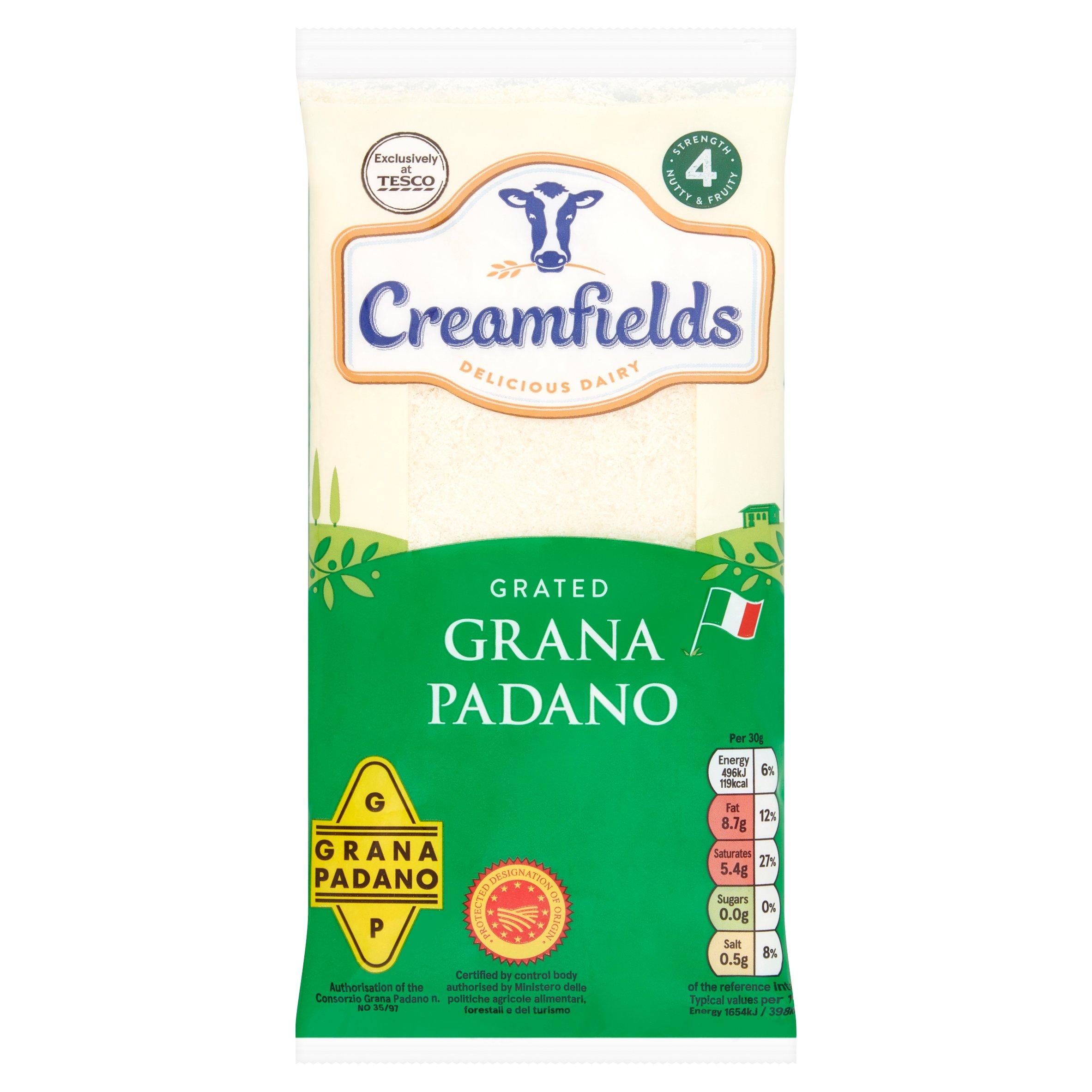 Creamfields Grated Grana Padano 100G