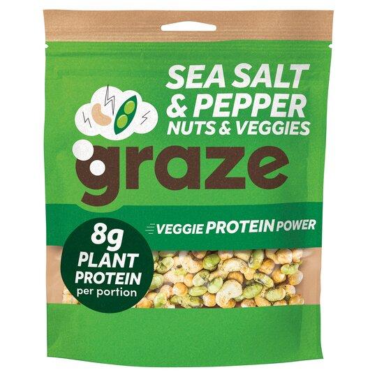 Graze Veggie Protein Power 128G