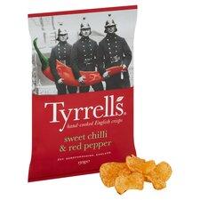 image 2 of Tyrrells Crisps Sweet Chilli & Red Pepper Crisps 150G