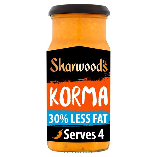 Sharwoods Korma 30% Less Fat Cooking Sauce 420G