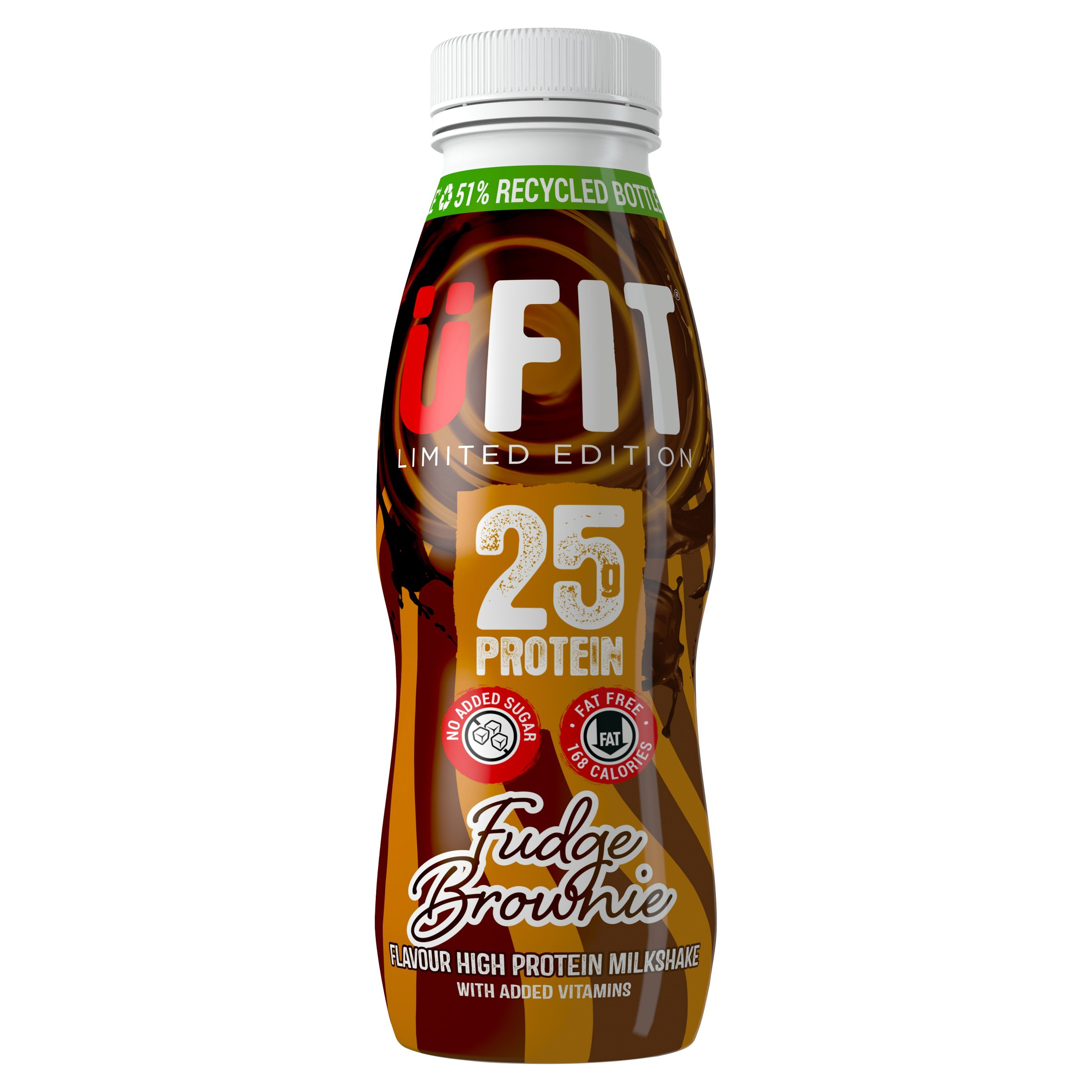 Ufit High Protein Shake Fudge Brownie 330Ml