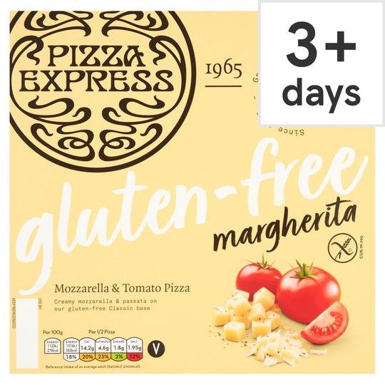 Pizza Express Gluten Free Margherita Pizza 275g