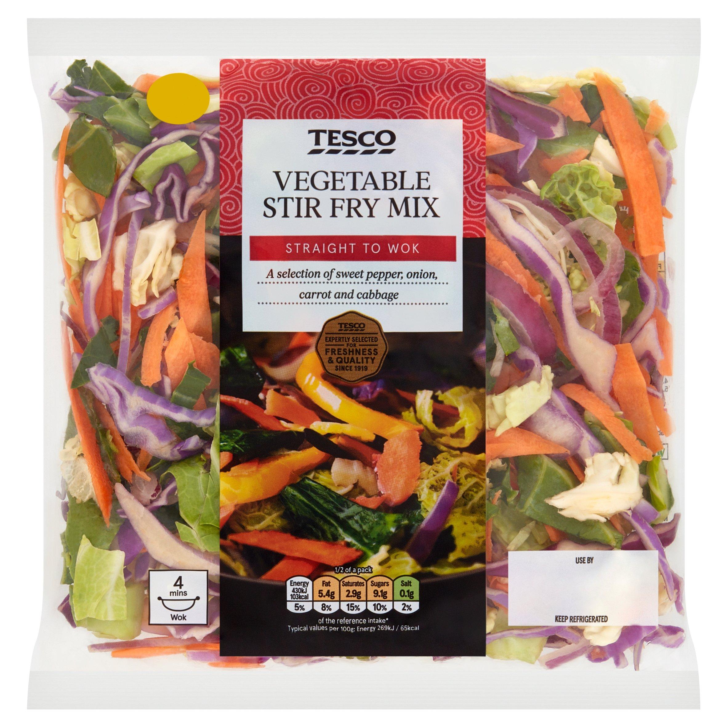 Tesco Vegetable Stir Fry 320G
