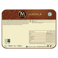 image 3 of Magnum Almond Ice Cream 4 X 100Ml