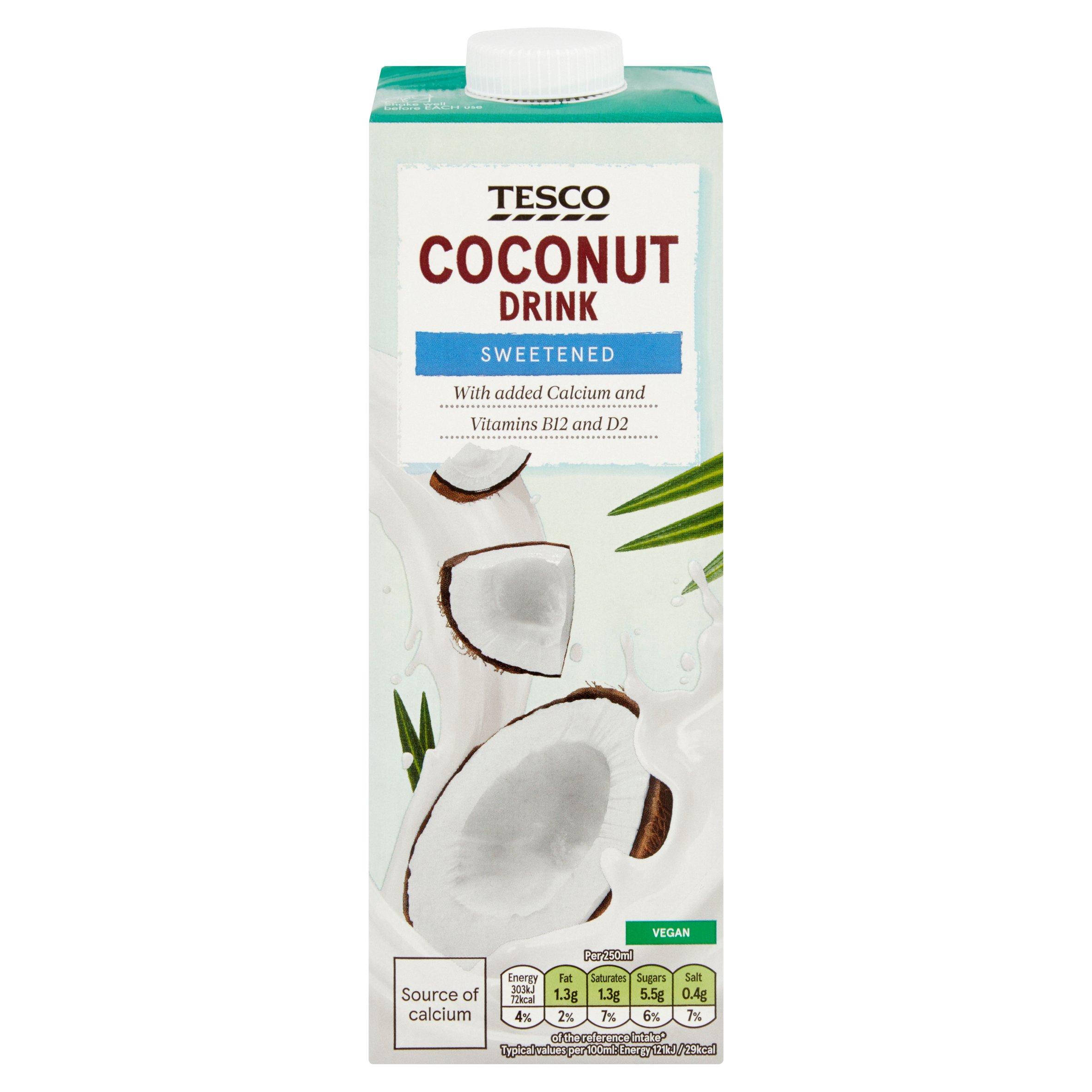 Tesco Coconut Drink 1 Litre