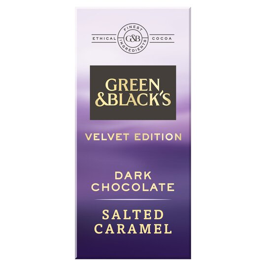 Green & Blacks Dark Salted Caramel Chocolate 90G